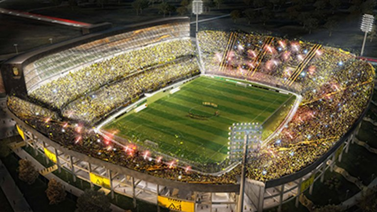ESTADIO CLUB ATLETICO PEÑAROL